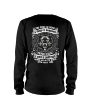 The price of being Wolf is Loneliness Long Sleeve Tee thumbnail