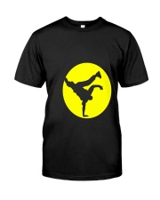 Breakdancing Bboy Spotlight T Shirt Hiphop Dance Y Classic T-Shirt front