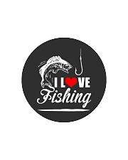 I LOVE FISHING Circle Cutting Board thumbnail