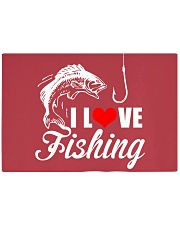 I LOVE FISHING Rectangle Cutting Board front