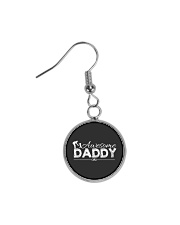 AWESOME DADDY Circle Earrings thumbnail