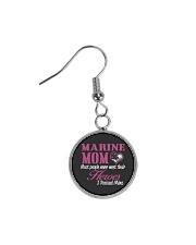 MARINE MOM Circle Earrings front