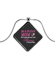 MARINE MOM Metallic Diamond Necklace thumbnail