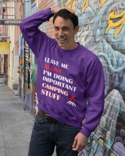 Funny Quote Sweet Home T Shirt Crewneck Sweatshirt lifestyle-unisex-sweatshirt-front-4