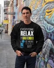 Bartender Gifts Bartender Shirt Sayings Crewneck Sweatshirt lifestyle-unisex-sweatshirt-front-2
