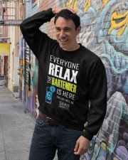 Bartender Gifts Bartender Shirt Sayings Crewneck Sweatshirt lifestyle-unisex-sweatshirt-front-4