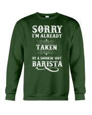 Barista Apparel Good Gifts For Baristas Crewneck Sweatshirt front
