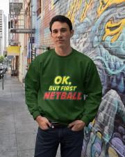Gifts ideas for netball lovers Netball players Crewneck Sweatshirt lifestyle-unisex-sweatshirt-front-2