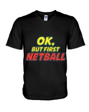 Gifts ideas for netball lovers Netball players V-Neck T-Shirt thumbnail