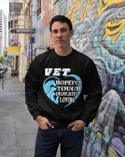 Veterinarian Apparel Great Gifts For Veterinarians Crewneck Sweatshirt lifestyle-unisex-sweatshirt-front-2