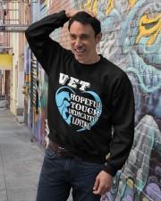 Veterinarian Apparel Great Gifts For Veterinarians Crewneck Sweatshirt lifestyle-unisex-sweatshirt-front-4