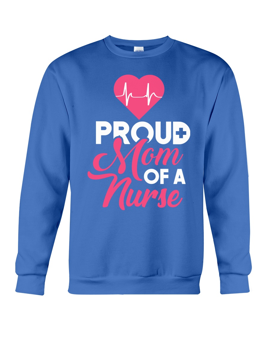 Proud Nurse Mom Shirt 2018 - Nurse graduation Crewneck Sweatshirt