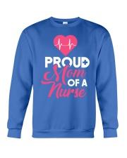 Proud Nurse Mom Shirt 2018 - Nurse graduation Crewneck Sweatshirt front
