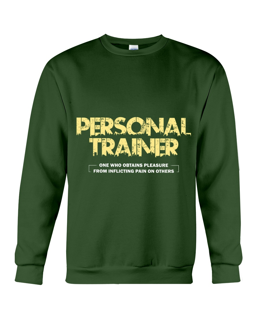 Personal trainer t shirt designs Workout clothes Crewneck Sweatshirt