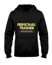 Personal trainer t shirt designs Workout clothes Hooded Sweatshirt thumbnail