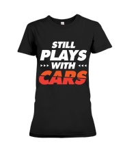 Classic Cars T-Shirt Gifts for Drag Racing lovers Premium Fit Ladies Tee thumbnail