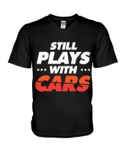 Classic Cars T-Shirt Gifts for Drag Racing lovers V-Neck T-Shirt thumbnail