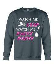 Funny cute manicure gifts Manicurist apparel Crewneck Sweatshirt front