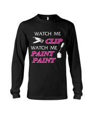 Funny cute manicure gifts Manicurist apparel Long Sleeve Tee thumbnail