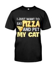 Pizza Lover Shirt I Love Pizza T Shirt Pizza Gifts Classic T-Shirt thumbnail