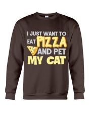 Pizza Lover Shirt I Love Pizza T Shirt Pizza Gifts Crewneck Sweatshirt front