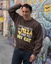 Pizza Lover Shirt I Love Pizza T Shirt Pizza Gifts Crewneck Sweatshirt lifestyle-unisex-sweatshirt-front-4
