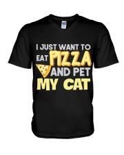 Pizza Lover Shirt I Love Pizza T Shirt Pizza Gifts V-Neck T-Shirt thumbnail