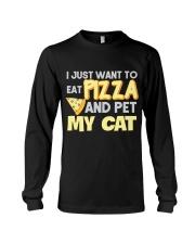 Pizza Lover Shirt I Love Pizza T Shirt Pizza Gifts Long Sleeve Tee thumbnail