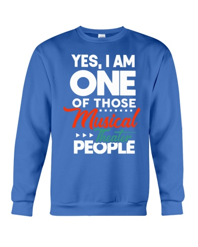 Proud Musical Theater gifts dramatic tee shirts