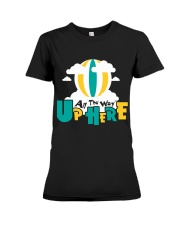 Hot Air Balloon Graphic Tee Shirt Premium Fit Ladies Tee thumbnail