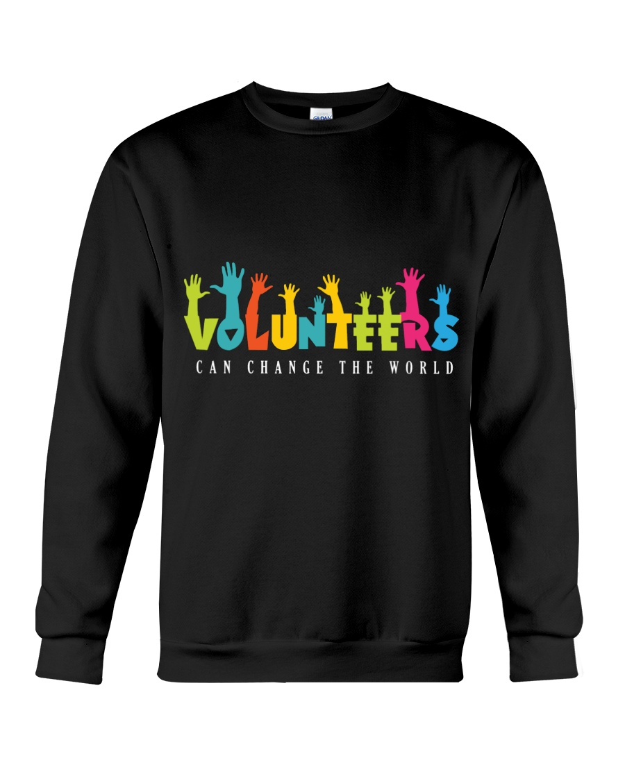 Volunteer clothing Gifts for volunteer teams Crewneck Sweatshirt