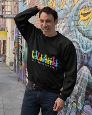 Volunteer clothing Gifts for volunteer teams Crewneck Sweatshirt lifestyle-unisex-sweatshirt-front-4