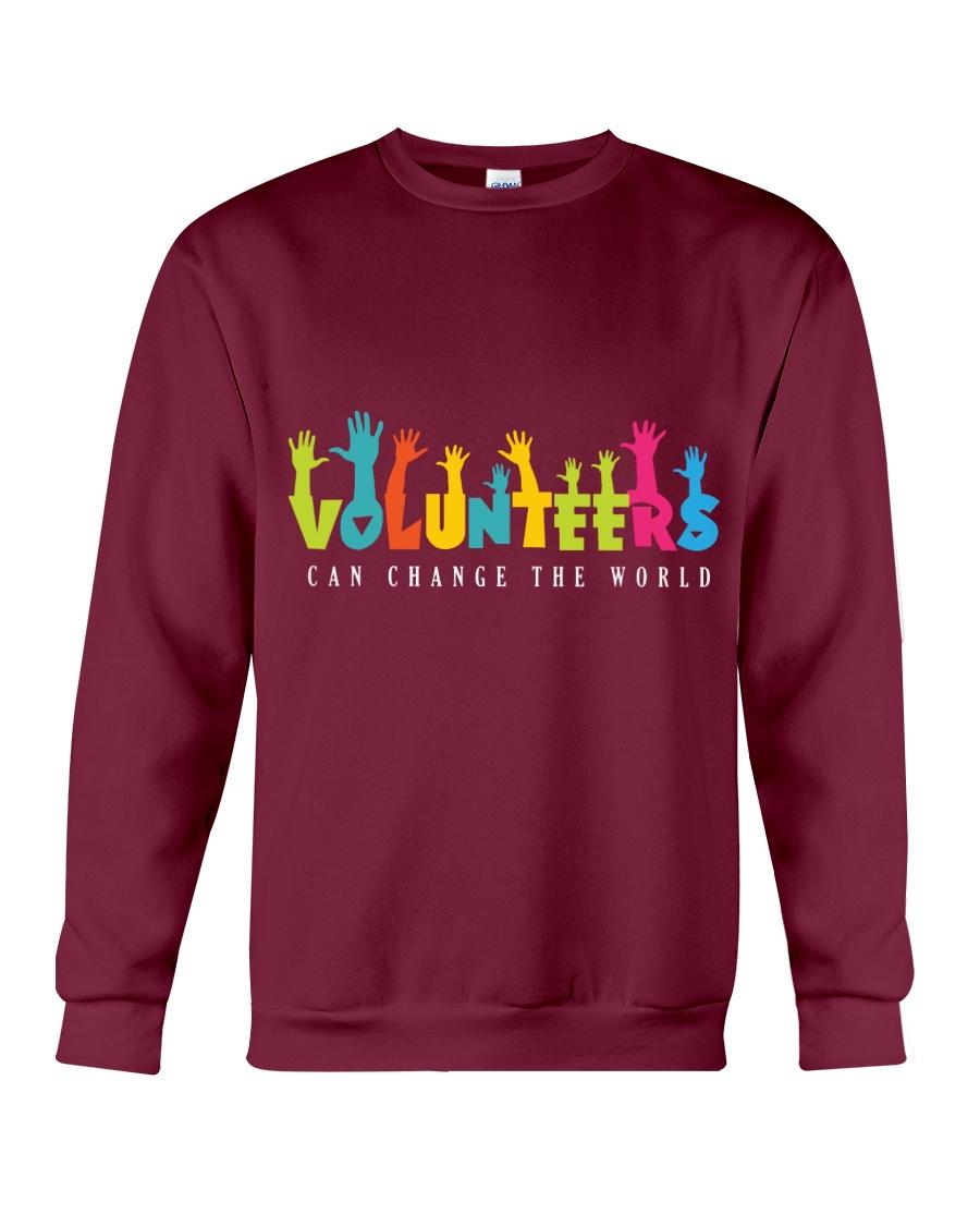 Volunteer clothing Gifts for volunteer teams Crewneck Sweatshirt