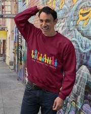 Volunteer clothing Gifts for volunteer teams Crewneck Sweatshirt lifestyle-unisex-sweatshirt-front-4