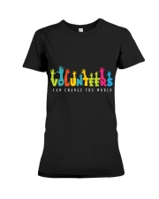 Volunteer clothing Gifts for volunteer teams Premium Fit Ladies Tee thumbnail