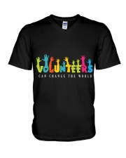 Volunteer clothing Gifts for volunteer teams V-Neck T-Shirt thumbnail