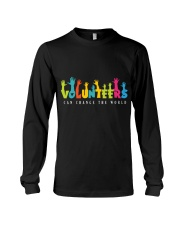 Volunteer clothing Gifts for volunteer teams Long Sleeve Tee thumbnail