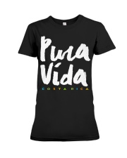 Costa Rica Pura Vida T-Shirt Premium Fit Ladies Tee thumbnail