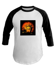 Halloween view Baseball Tee thumbnail