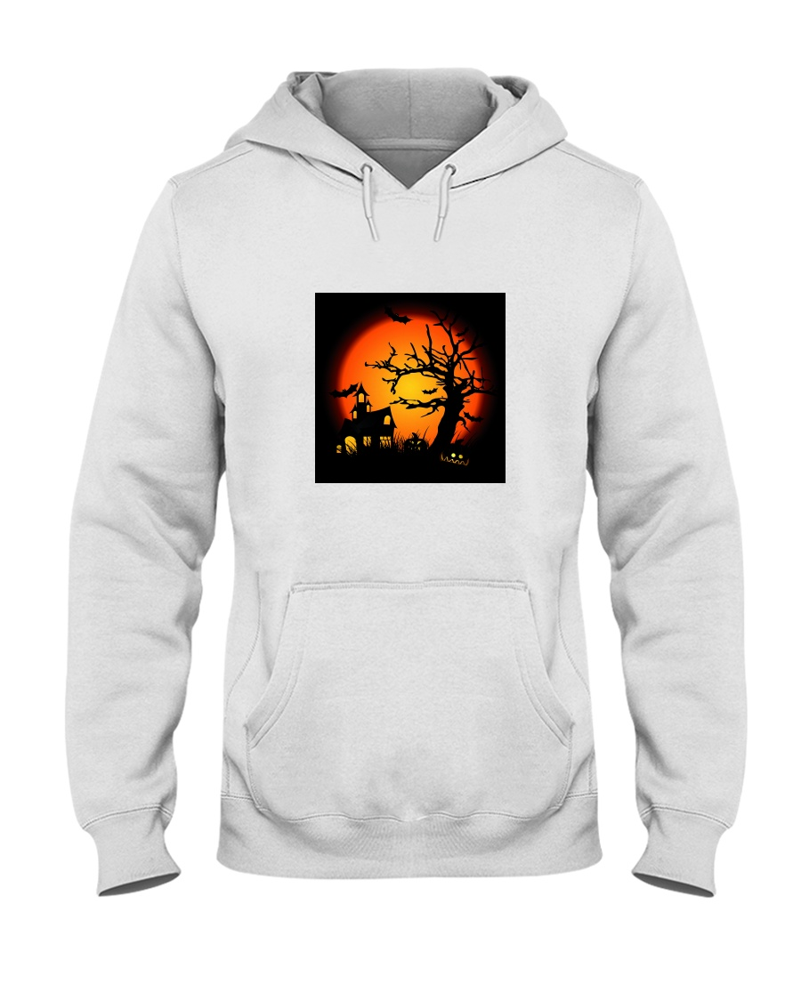 Halloween view Hooded Sweatshirt
