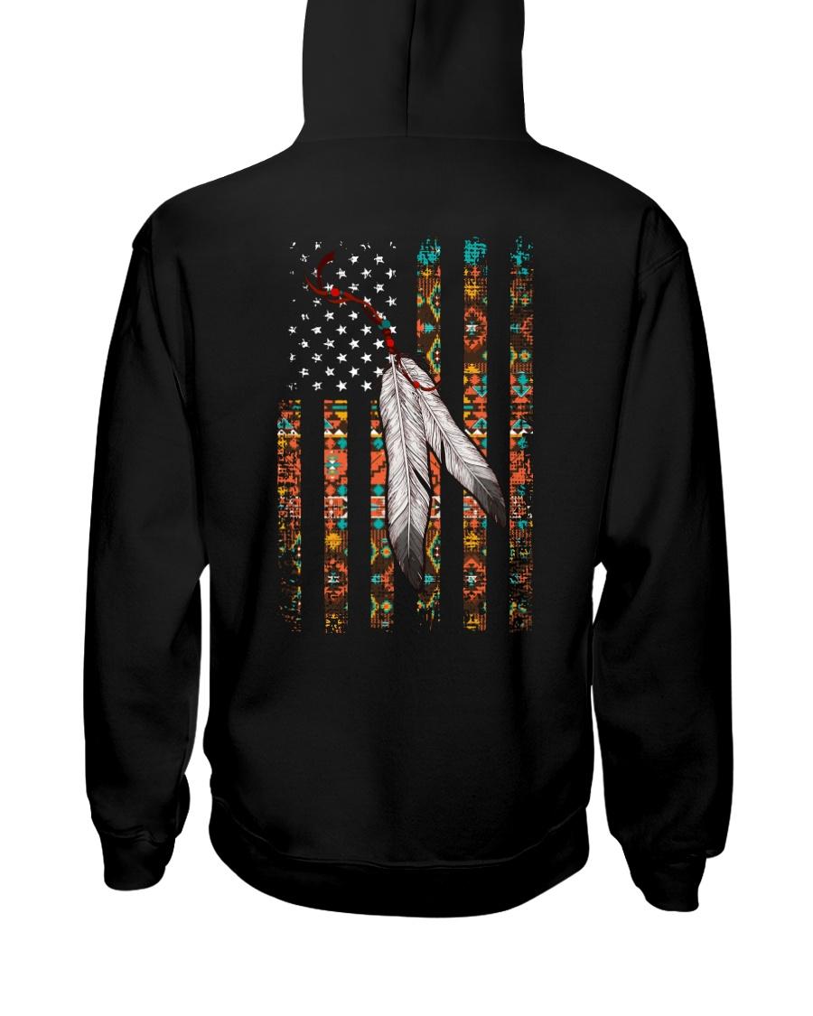 Native American Flag Hooded Sweatshirt