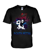 Death Metal V-Neck T-Shirt thumbnail