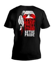 Still Here Still Strong Native Pride V-Neck T-Shirt thumbnail