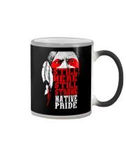 Still Here Still Strong Native Pride Color Changing Mug thumbnail