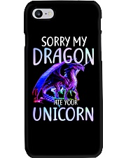 Sorry My Dragon Ate Your Unicorn Phone Case thumbnail