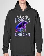 Sorry My Dragon Ate Your Unicorn Hooded Sweatshirt garment-hooded-sweatshirt-front-04