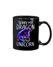 Sorry My Dragon Ate Your Unicorn Mug thumbnail