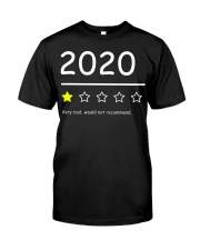 2020 Funny 1Star Review Shirt Classic T-Shirt front