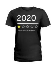 2020 Funny 1Star Review Shirt Ladies T-Shirt thumbnail