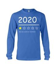 2020 Funny 1Star Review Shirt Long Sleeve Tee thumbnail